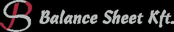 Balance Sheet könyvelés logó